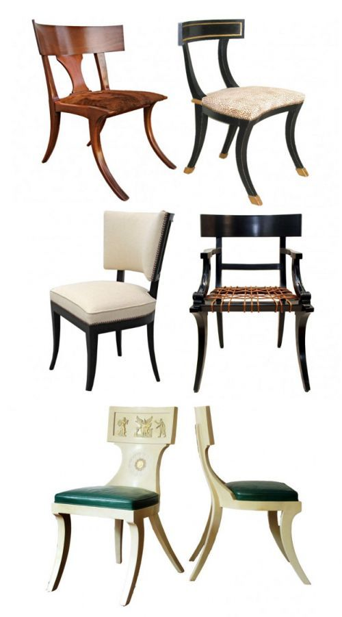 furniture examples. Here Are Different Examples Of A Modern Take On The Greeku0027s Klismos Chair Some Have Furniture