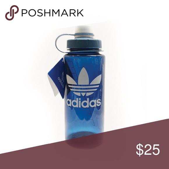 79b538ee adidas BPA-FREE Blue Water Bottle 24oz/750ml Twist New with ...