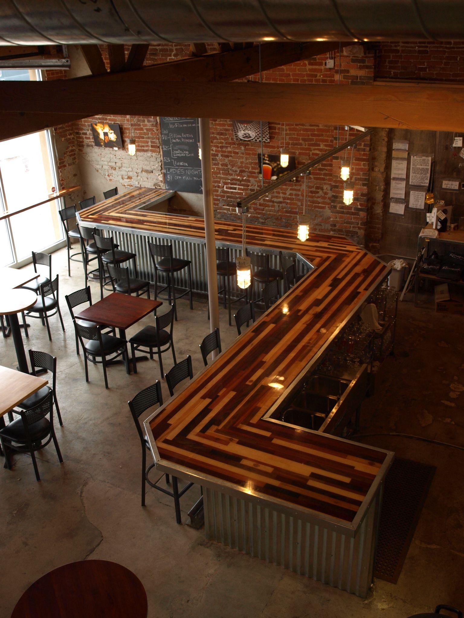 Renegade brewery bar top by Esinem Designs | bar tops | Pinterest ...