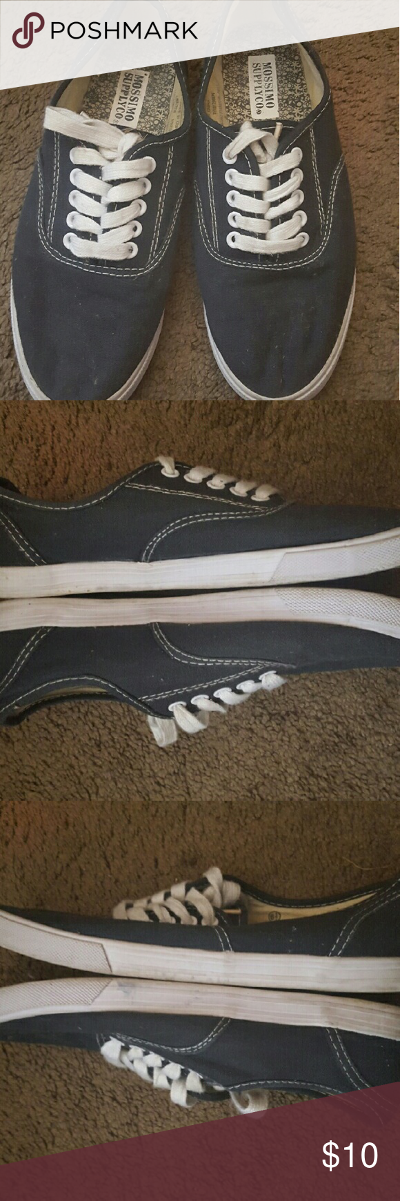 30b687af2df Navy Blue Mossimo Supply Co vans style shoes 6.5