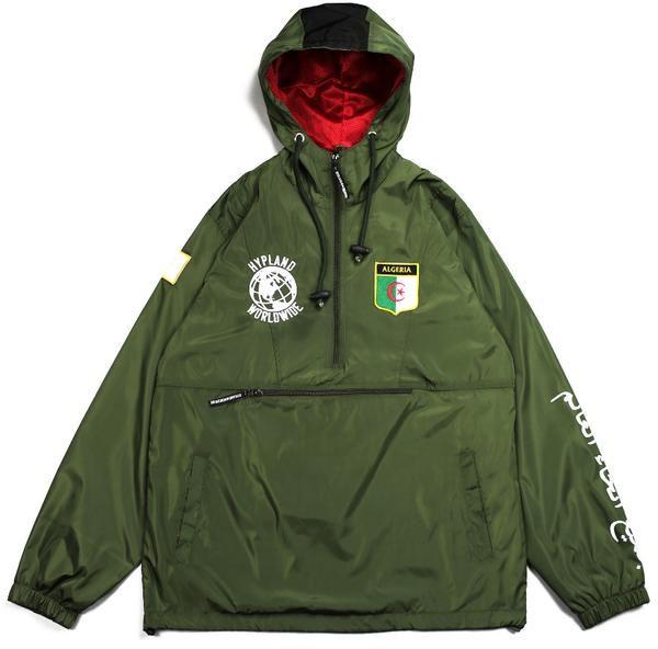 f5f2b0c73 ALGERIA WORLD FAMOUS JACKET (OLIVE)   Windbreakers   Jackets, World ...