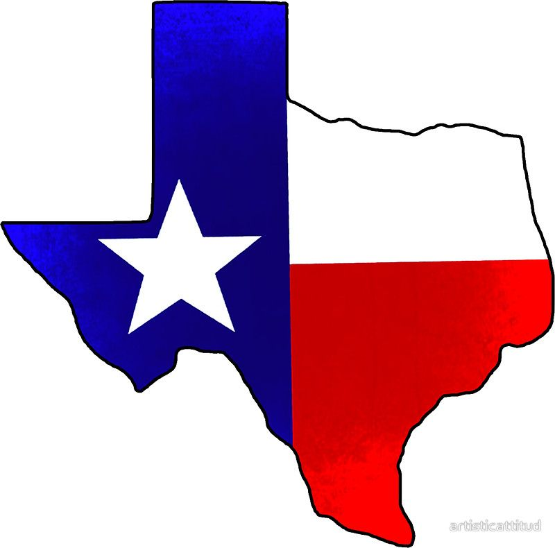 Texas Vibrant Flag State Outline By Artisticattitud Texas Theme State Outline Texas