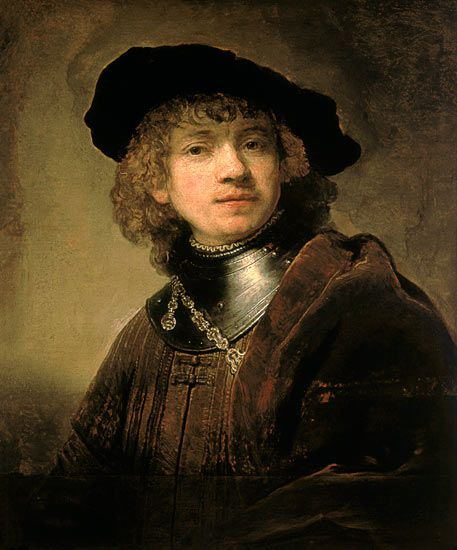 Rembrandt Van Rijn 1606 1669 1634c Self Portrait Uffizi Florence Rembrandt Rembrandt Schilderijen Zelfportretten