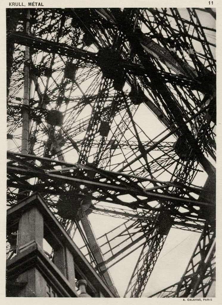 Germaine Krull Metal Calavas Concerned The Essentially Masculine Subject Of Industrial Shot Portfolios 64 Black And White Photographs In