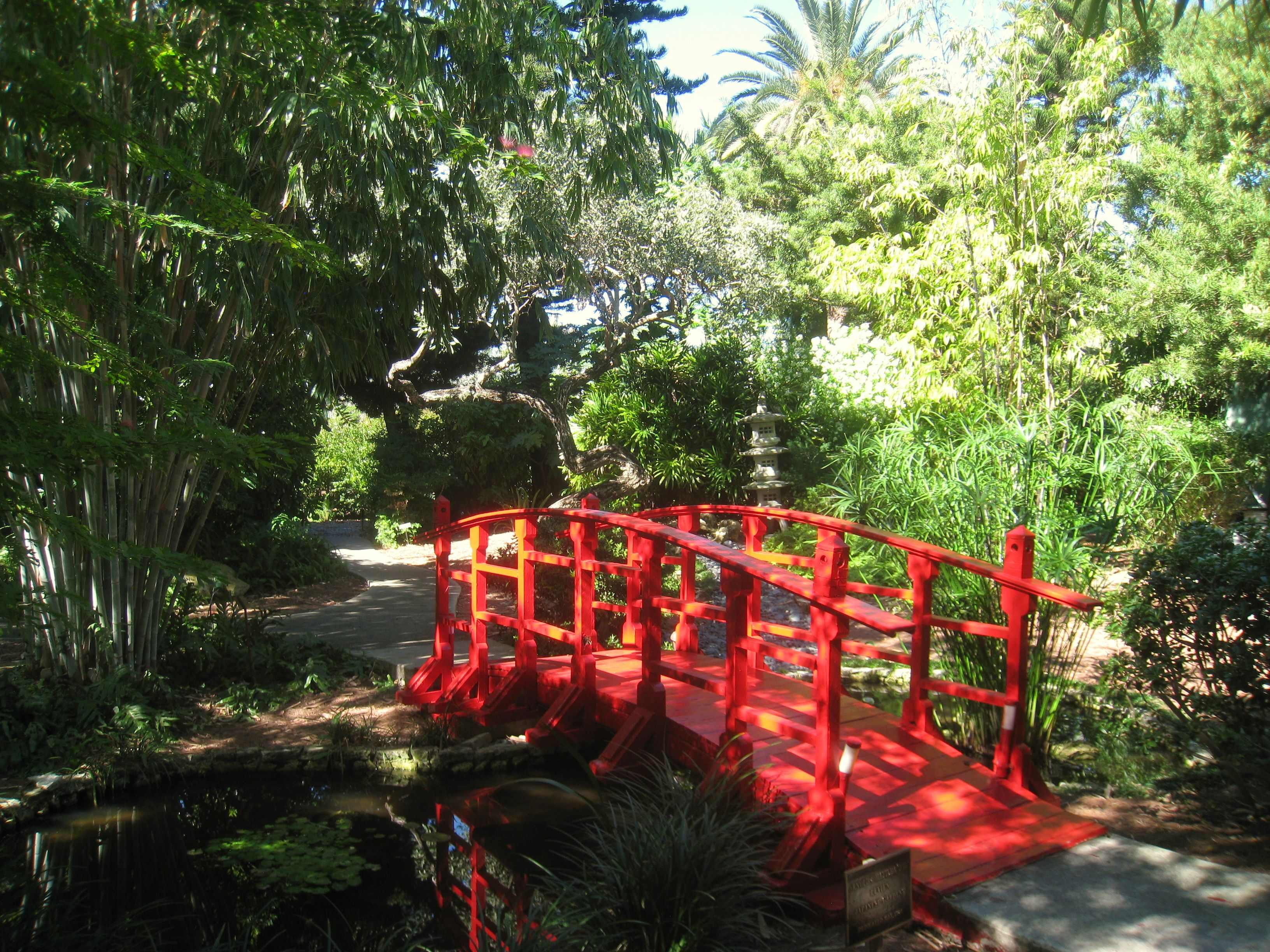 Stop #2 - Miami Beach Botanical Garden. Take a stroll before lunch ...