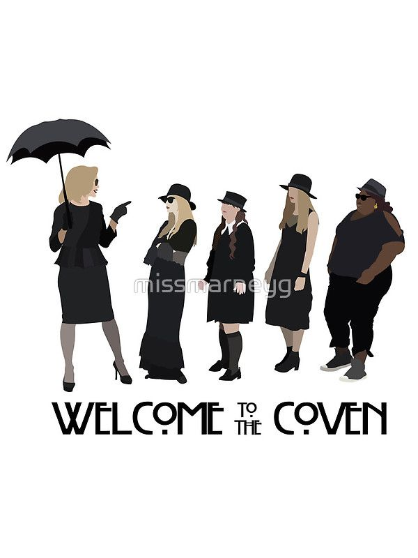 American Horror Story Coven Order Shirt Sticker Poster Online At Redbubble Com Ahs Tel American Horror Story Coven American Horror American Horror Story