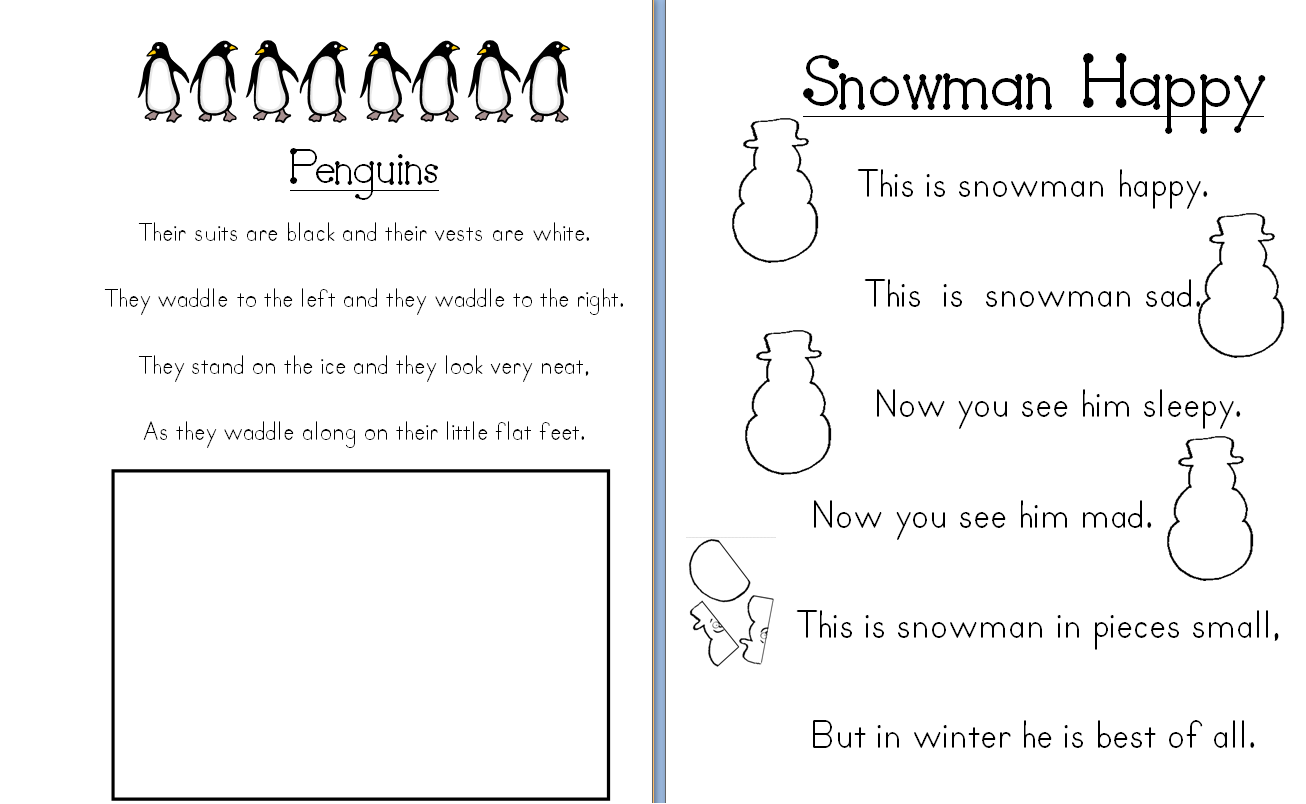 This Worksheet Will Allow Students To Read 2 Poems And