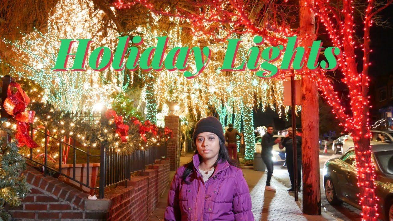 Walking Best Neighborhood for Christmas Lights Dyker