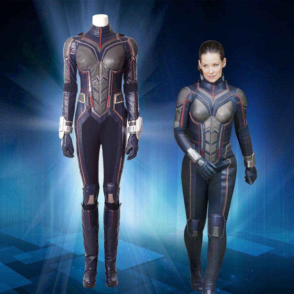 US Ant-Man The Wasp One-piece Tight Halloween Women Cosplay Spandex Costume