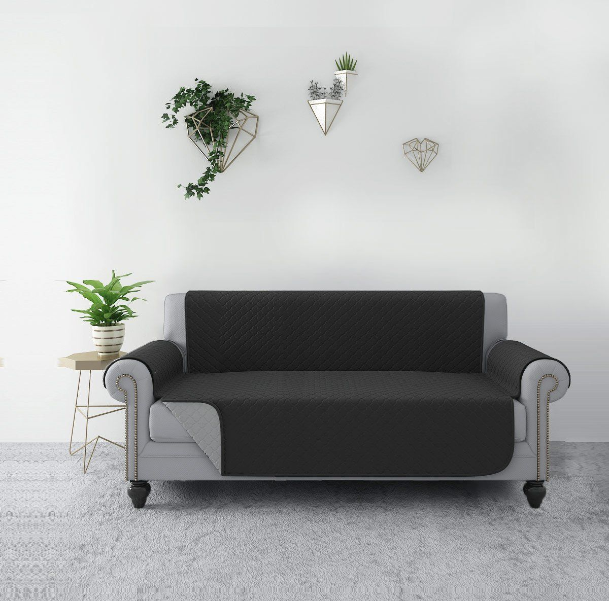 Rhf Reversible Sofa Cover Couch Covers For 3 Cushion Couch Couch