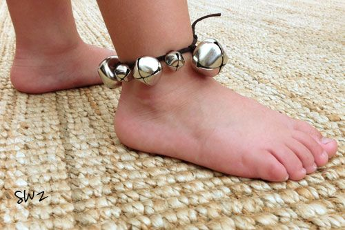 Ankle Bells :: A Homemade Musical Instrument Tutorial for Kids