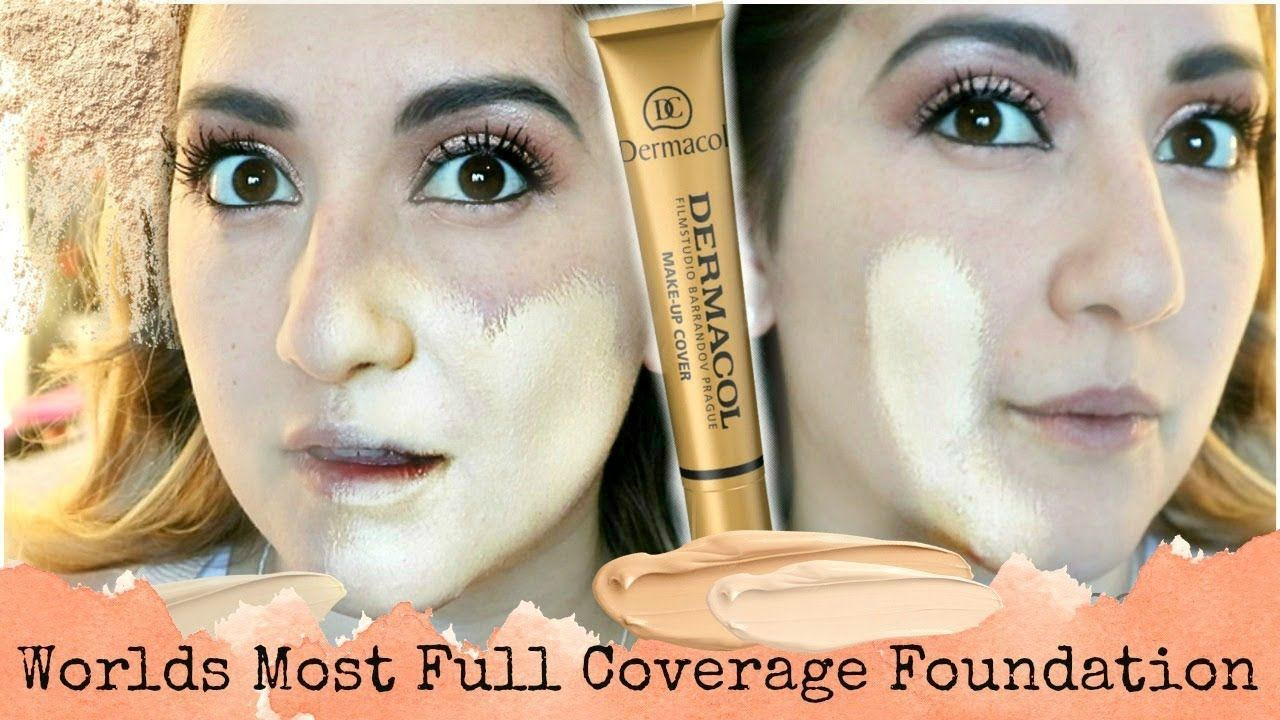 WORLD'S MOST EXTREME COVERAGE DERMACOL FOUNDATION REVIEW