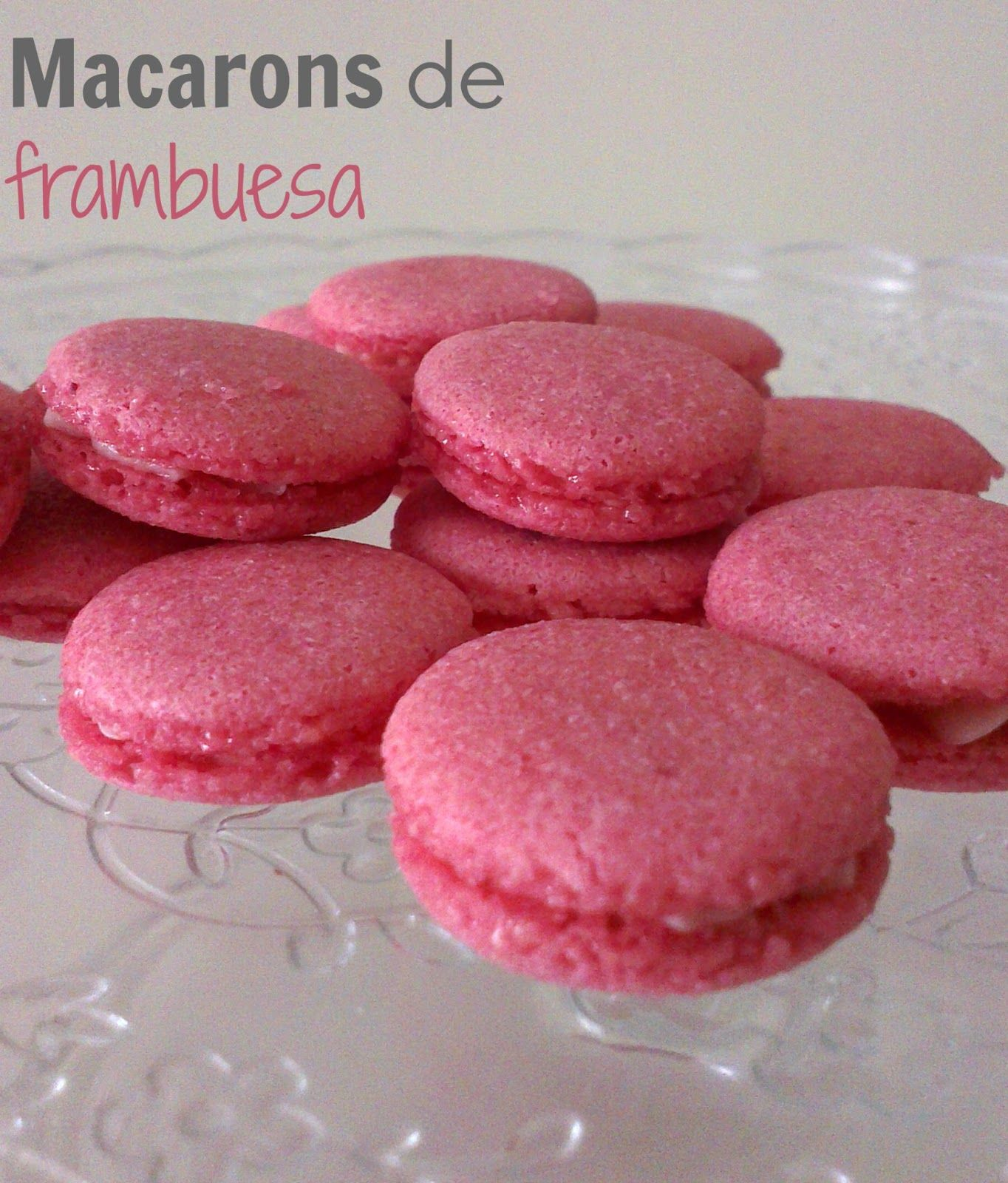 Sivila Happy Bakery : ♥ Macarons de frambuesa