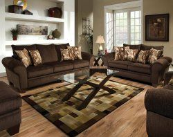 Excellent Godiva Chocolate Brown Sofa And Loveseat Set In 2019 Sofa Squirreltailoven Fun Painted Chair Ideas Images Squirreltailovenorg