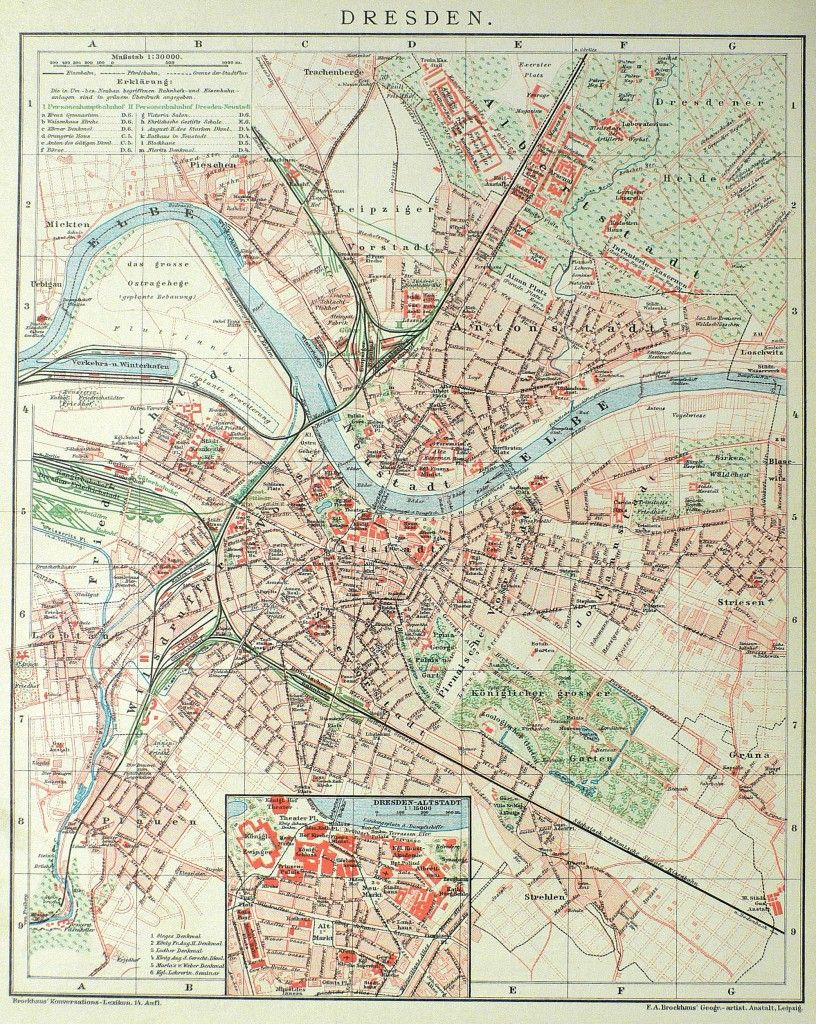 Dresden In 2019 Dresden Stadtplan Landkarte Und Dresden