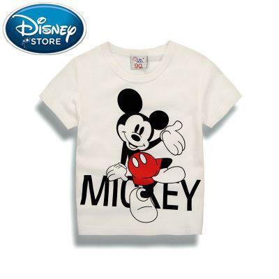 8fb0753e01 Disney Mickey Minnie Summer Short Sleeve T-shirt Motorcycle 100 ...