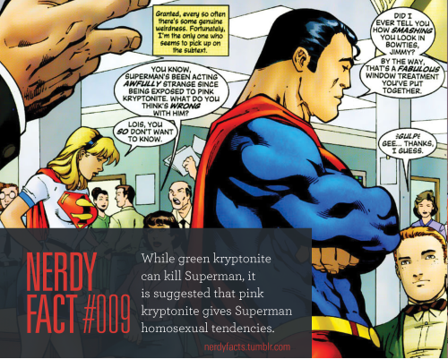 Kryptonite Mobili ~ Nerdy fact while green kryptonite can kill superman it is