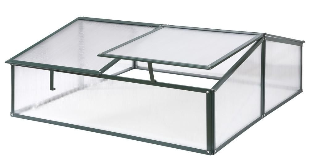 Simplicity Polycarbonate Safety cold frame Old Cottage Green ...