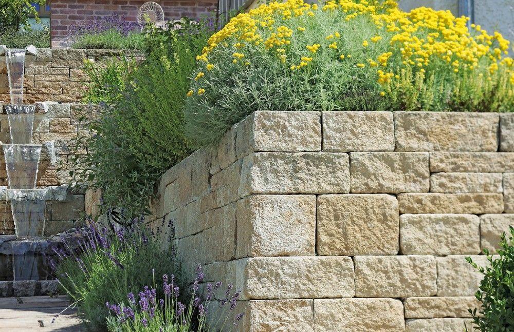 Funktionelles Gartenmauersystem Fur Die Hangbefestigung Oder Als Sichtschutz Gartenmauer Mauer Garten Sichtschutz Hangbefest Gartenmauern Mauer Garten