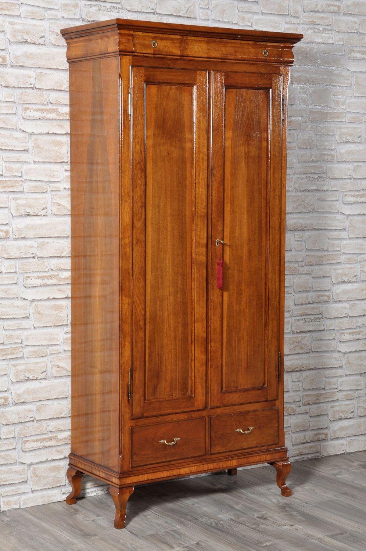 Armadiodispensa di lusso a 2 ante in legno di noce