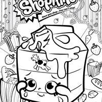 desenho de shopkins leite para colorir Šopkini coloring pages