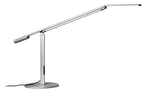 Koncept Lighting Equo This Desk Lamp Features A Discreet Counterweight Design For Feather Light Adjustability Affordab Desk Lamp Led Desk Lamp Lamp