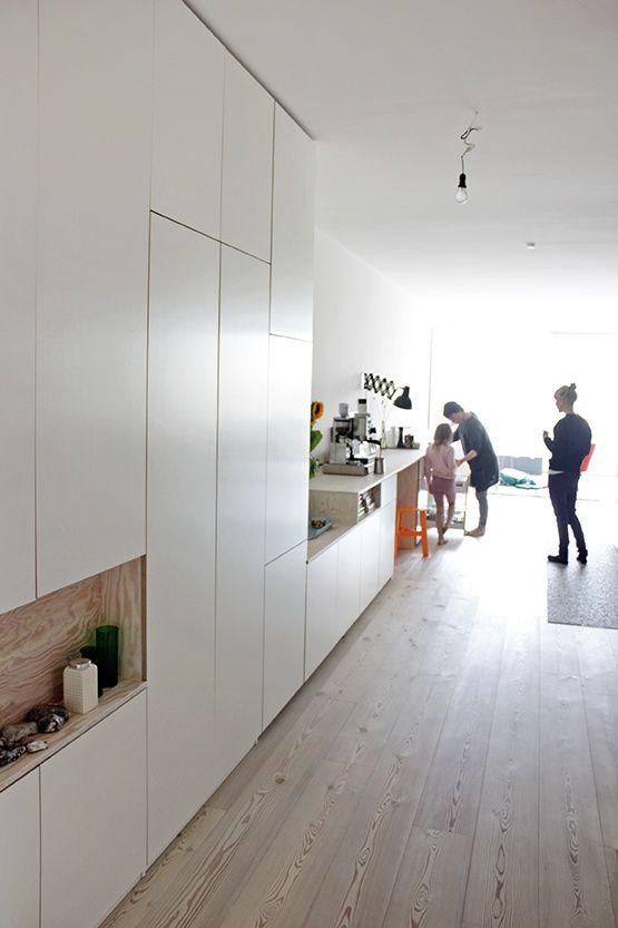 Storage Spaces A Kitchen Einbaumobel Haus Interieurs Design Fur Zuhause