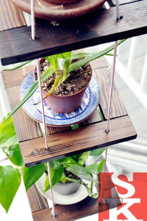 3 Tiered Hanging Plants Scrap Wood Project Garden Scrap Wood