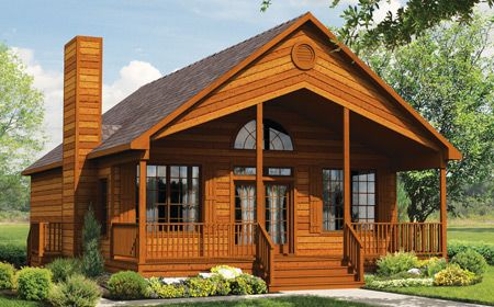 Aspen Loft 60 Cabin from ubh 1901 sq ft with optional loft front porch sitting room