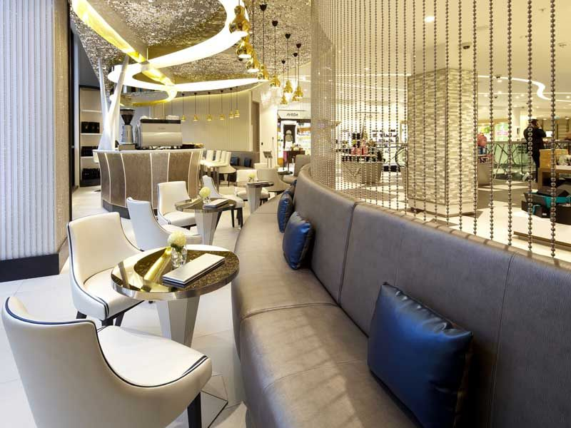 Beauty Bazaar, Harvey Nichols | Bar U0026 Pub Furniture Portfolio