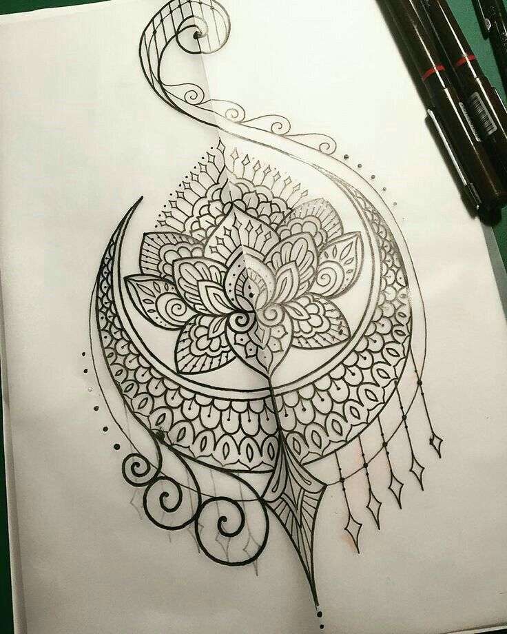 22 Mandala Tattoo Designs Ideas: Love Something Like This On My Upper Arm, Would Be