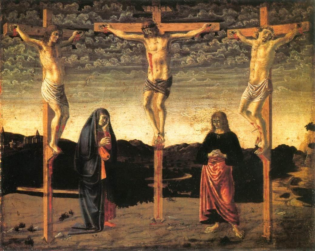 Crucifixión Andrea del castagno