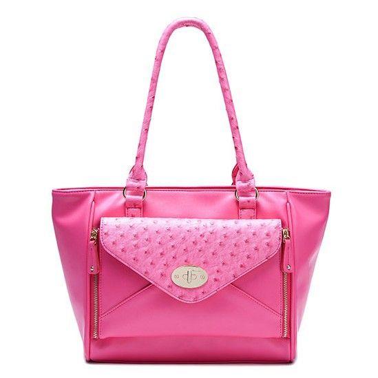 stacy bags brand high quality women Fashion new arrival elegant brief ol work bag ostrich grain totes ladies shoulder bag $110.00