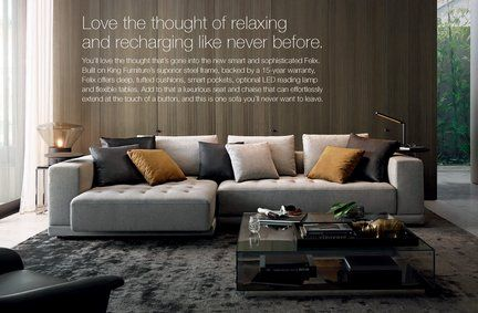 Felix King Furniture Lounge Couch Living