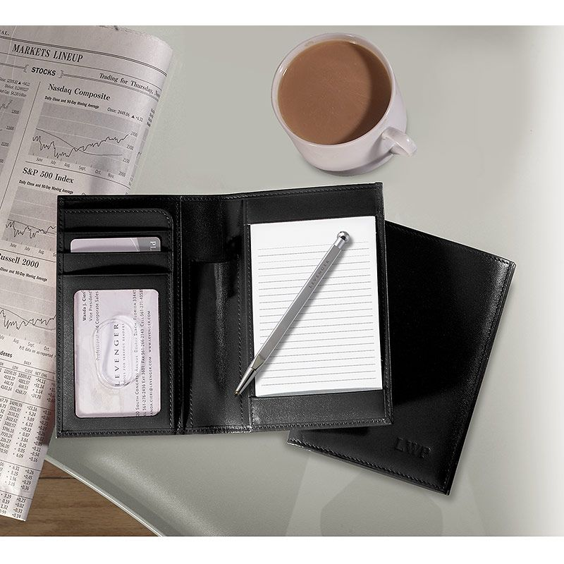 Printing On Index Cards: Leather 3x5 Index Card Wallet For Hipster PDA