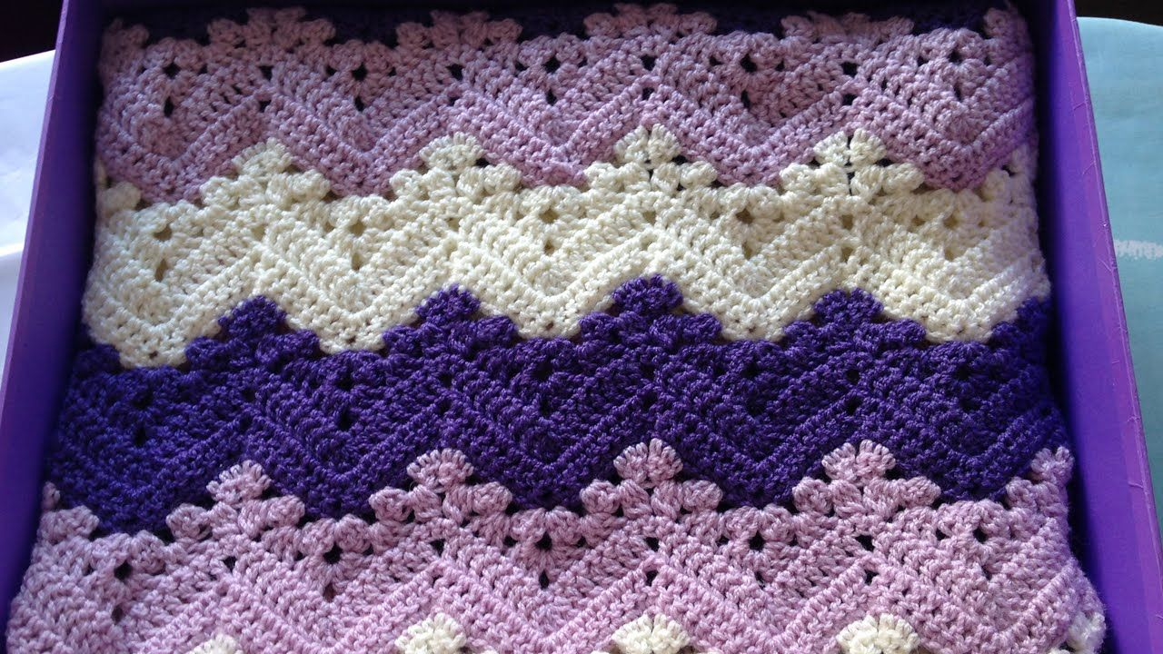6-Day Kid Blanket Free Crochet Pattern and Video Tutorial | Manta ...