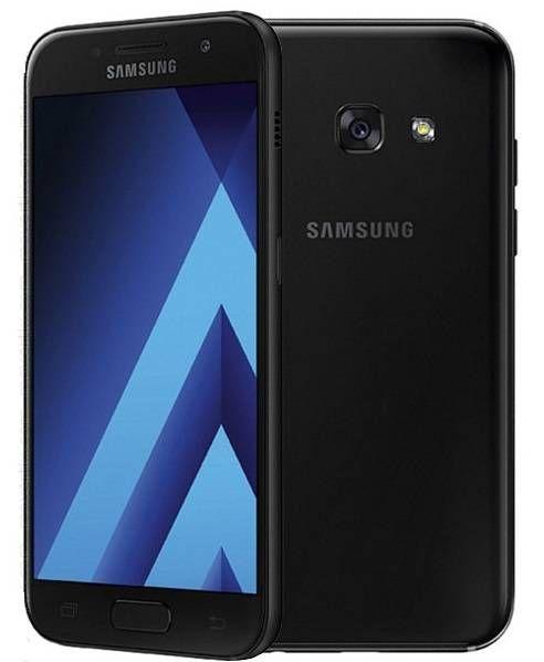 Samsung Galaxy A3 2017 Dual Sim Black Samsung Galaxy A3 Samsung Dual Sim