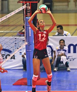 Taylor Tashima Best Setter Of 2012 Norceca Championships Female Volleyball Players Usa Volleyball Volleyball Players