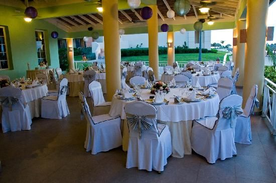 Iberostar Rose Hall Suites Reception Set Up At Aunt Ruby S Restaurant