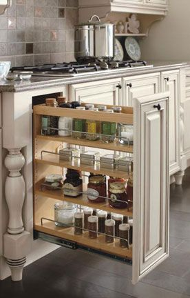 Love this Diamond kitchen cabinet storage idea! Excellent way to keep frequently used items organized and close at hand. #DiamondRoomMakeover & Love this Diamond kitchen cabinet storage idea! Excellent way to ...