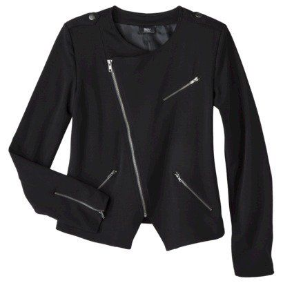 Mossimo® Petites Long-Sleeve Ponte Jacket - Assorted Colors on Wanelo Target $30