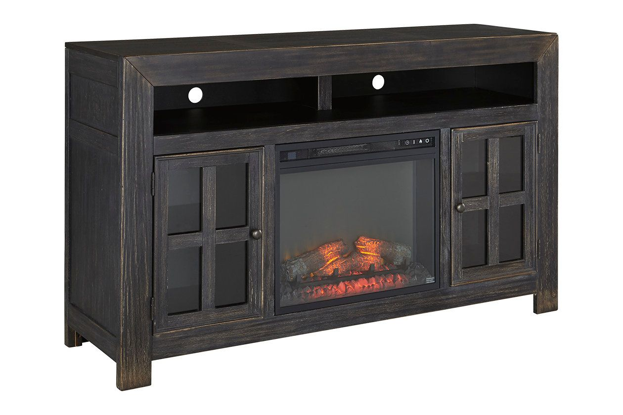 Pleasing Gavelston 60 Tv Stand With Electric Fireplace Ashley Home Interior And Landscaping Eliaenasavecom