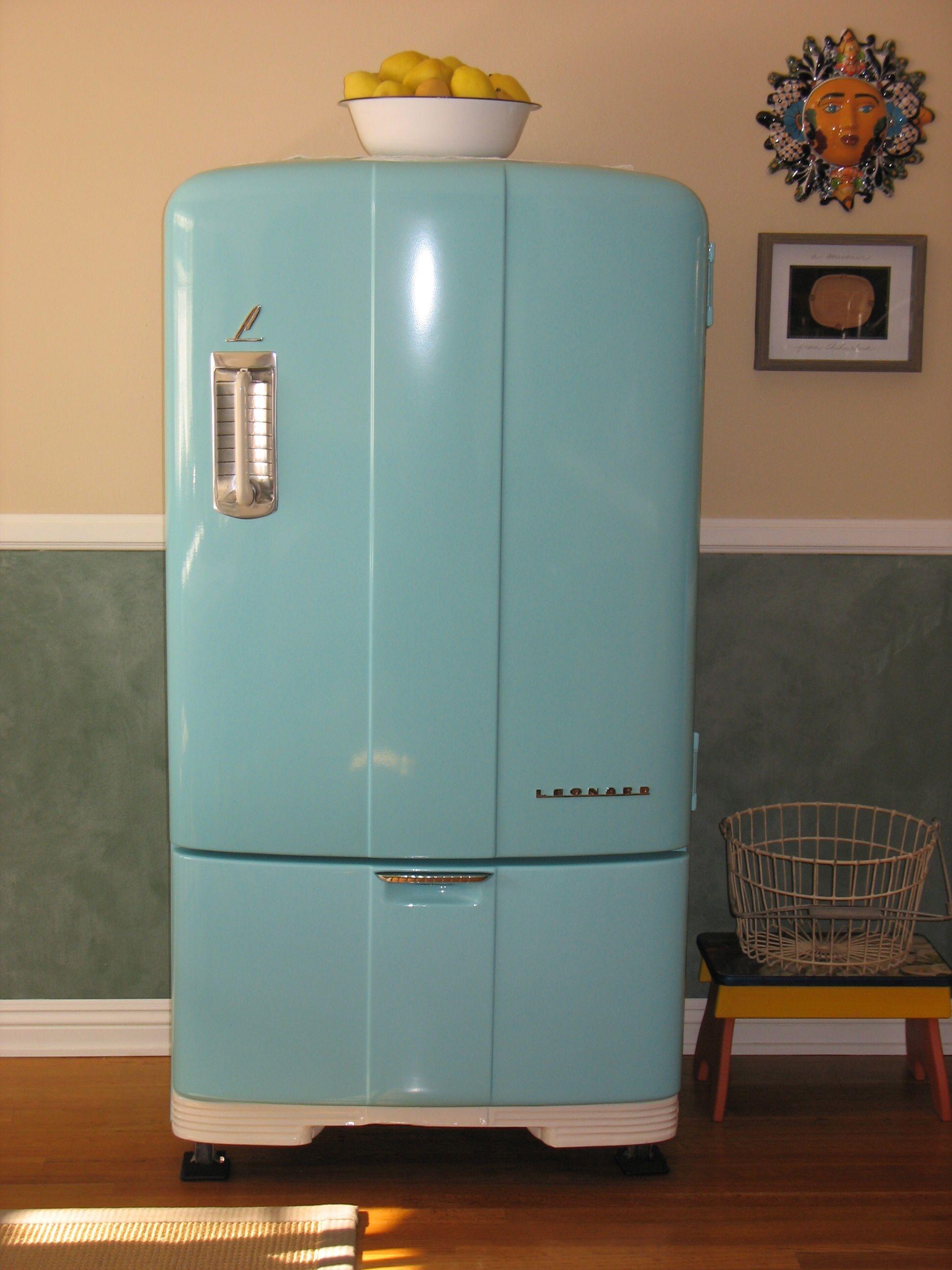 1946 Leonard Refrigerator Kitchens In 2019 Home Decor