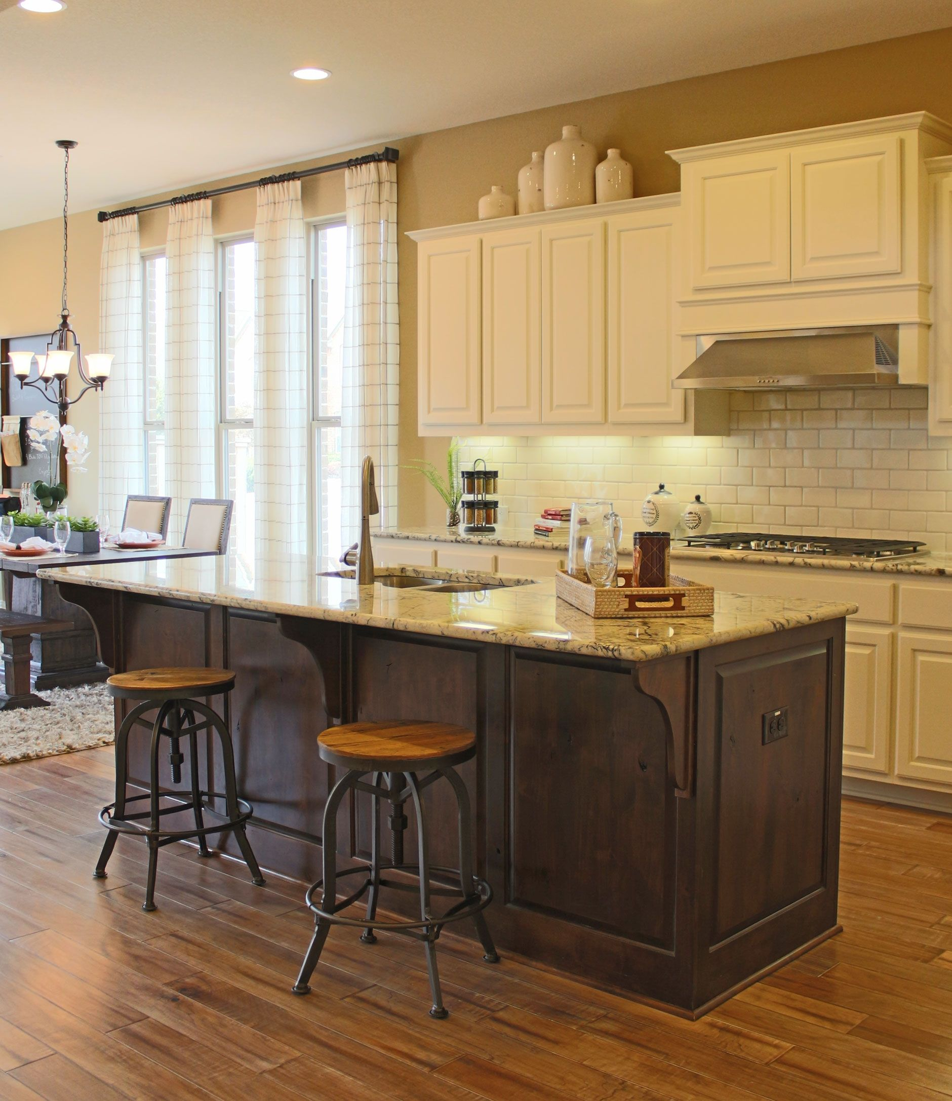 no cabinets dark countertops island job and painted detailed traditional off with shabby kitchen chic precision white corbels countertop