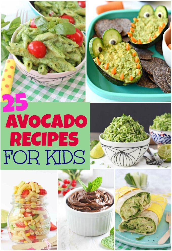 how to prepare avocado for baby food