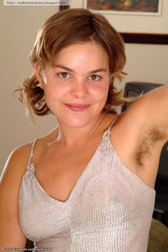 Hairy underarm women