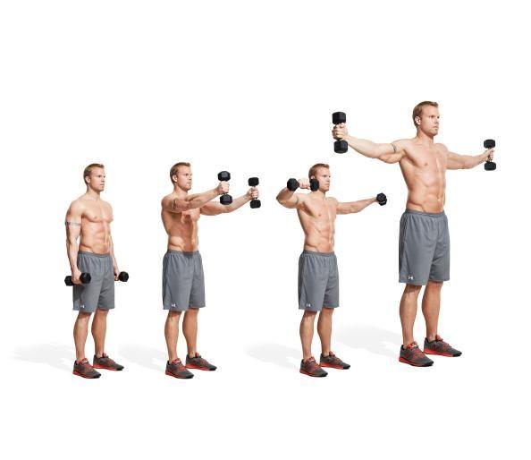 Dumbbell Chest Workouts For Men: The 30 Best Shoulder Exercises Of