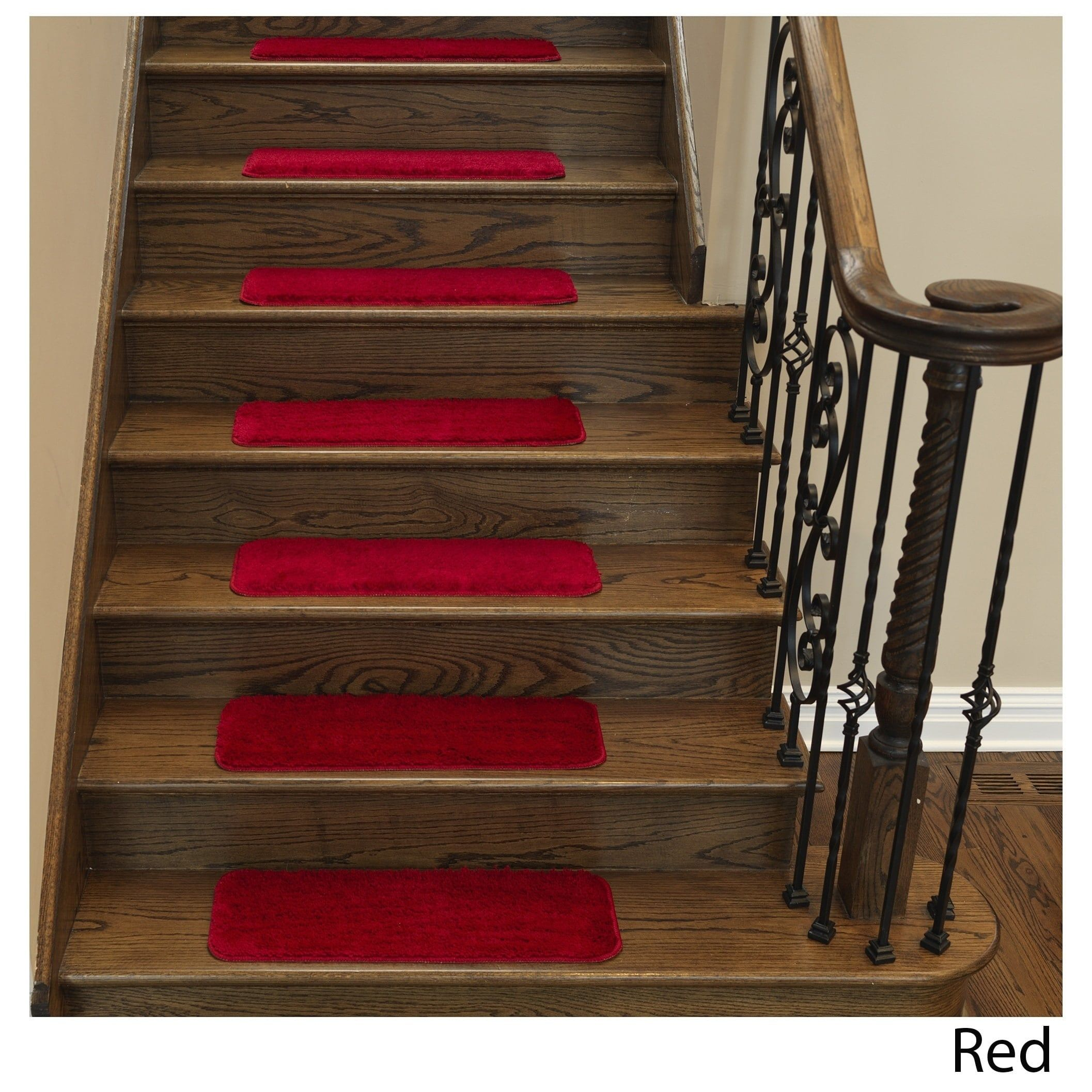 Best Ottomanson Comfort Collection Soft Solid Sh*G Carpet Stair 400 x 300