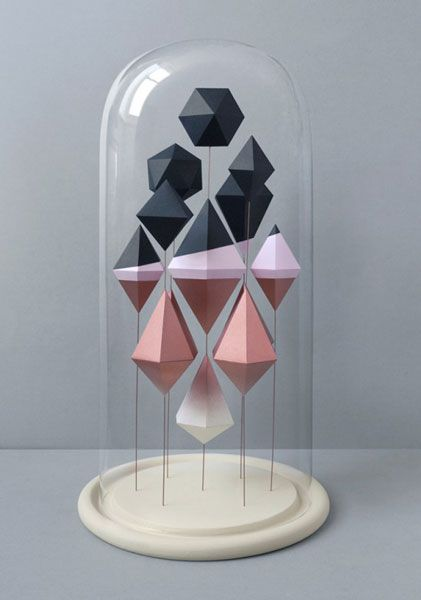 Good idea for displaying origami...