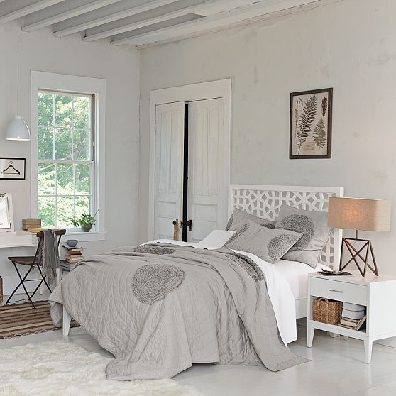 West Elm Headboards Modern Bed Bedroom Inspirations Moroccan